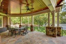Dream House Plan - Farmhouse Exterior - Covered Porch Plan #54-390