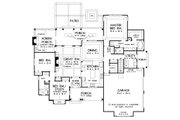 Craftsman Style House Plan - 3 Beds 2 Baths 2115 Sq/Ft Plan #929-32 Floor Plan - Main Floor Plan