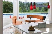 Modern Exterior - Covered Porch Plan #48-468
