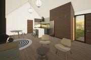 Modern Style House Plan - 2 Beds 2 Baths 853 Sq/Ft Plan #933-11 Interior - Kitchen