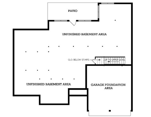 European Floor Plan - Other Floor Plan Plan #45-256