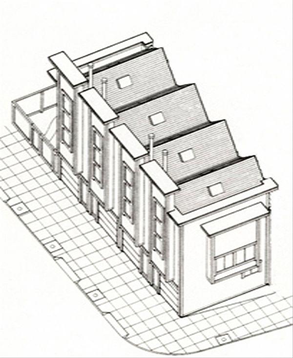Modern Floor Plan - Other Floor Plan Plan #511-3