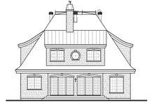Dream House Plan - Rear View - 2600 square foot European home