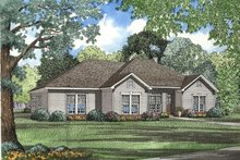 House Plan Design - Traditional Exterior - Front Elevation Plan #17-1034