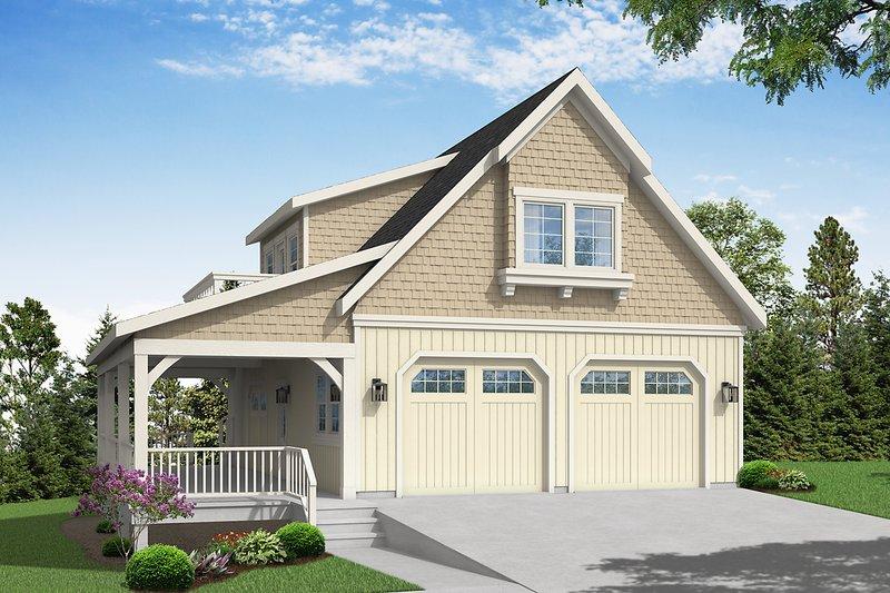 House Plan Design - Craftsman Exterior - Front Elevation Plan #124-1270