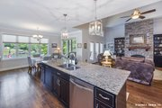 Craftsman Style House Plan - 3 Beds 2 Baths 2108 Sq/Ft Plan #929-916 Interior - Kitchen