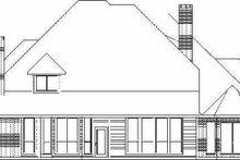 Traditional Exterior - Rear Elevation Plan #84-156