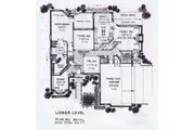 Colonial Style House Plan - 4 Beds 3.5 Baths 3032 Sq/Ft Plan #310-913 Floor Plan - Main Floor