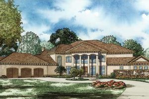 Traditional Exterior - Front Elevation Plan #17-2346