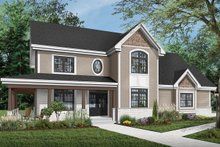 House Plan Design - Country Exterior - Front Elevation Plan #23-2131