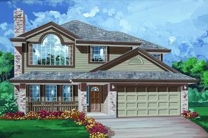 Traditional Exterior - Front Elevation Plan #47-559