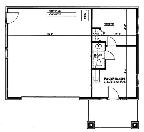Traditional Floor Plan - Main Floor Plan Plan #72-267
