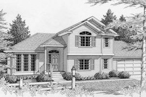 Traditional Exterior - Front Elevation Plan #112-118