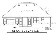 Traditional Exterior - Rear Elevation Plan #20-2371