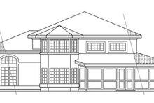 Dream House Plan - Mediterranean Exterior - Rear Elevation Plan #124-237