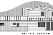 Contemporary Style House Plan - 4 Beds 3.5 Baths 3217 Sq/Ft Plan #892-10 Exterior - Other Elevation