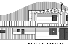 House Plan Design - Contemporary Exterior - Other Elevation Plan #892-10