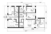 Modern Style House Plan - 5 Beds 5 Baths 3956 Sq/Ft Plan #549-5 Floor Plan - Upper Floor