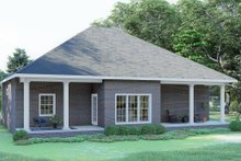 House Plan Design - Southern Exterior - Rear Elevation Plan #44-168