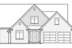 Traditional Exterior - Front Elevation Plan #490-39