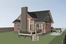 Dream House Plan - Craftsman Exterior - Other Elevation Plan #79-264