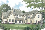 European Style House Plan - 5 Beds 5.5 Baths 5448 Sq/Ft Plan #453-25 Photo