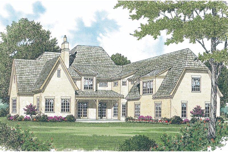 European Photo Plan #453-25 - Houseplans.com