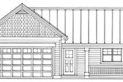 House Plan - 0 Beds 0 Baths 960 Sq/Ft Plan #118-123 Exterior - Other Elevation