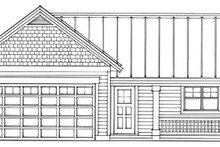 Home Plan Design - Exterior - Other Elevation Plan #118-123