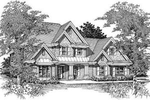 Traditional Exterior - Front Elevation Plan #329-135