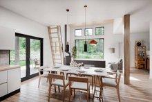 House Blueprint - Cabin Interior - Dining Room Plan #924-16