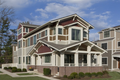 Craftsman Style House Plan - 3 Beds 3 Baths 2460 Sq/Ft Plan #454-12 Exterior - Other Elevation