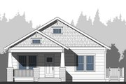 Craftsman Style House Plan - 3 Beds 2 Baths 1615 Sq/Ft Plan #461-52 Exterior - Other Elevation