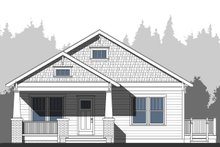 Architectural House Design - Craftsman Exterior - Other Elevation Plan #461-52