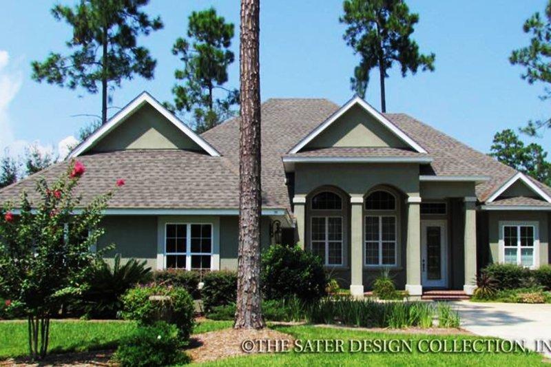 House Plan Design - Ranch Exterior - Front Elevation Plan #930-122