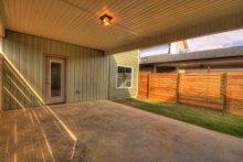 House Design - Contemporary Exterior - Covered Porch Plan #932-7