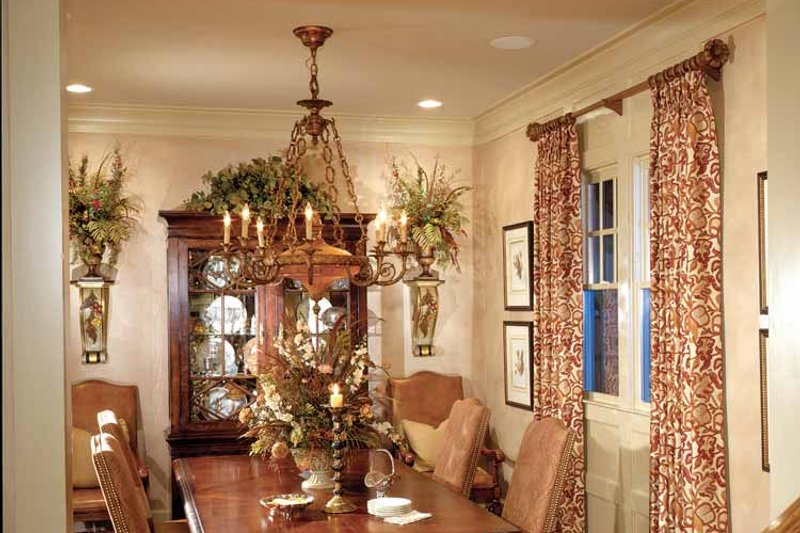 Craftsman Interior - Dining Room Plan #429-272 - Houseplans.com