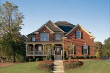 Country Exterior - Front Elevation Plan #927-672