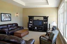 House Design - Ranch Interior - Family Room Plan #70-1499