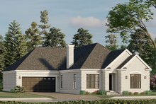 House Design - Traditional Exterior - Other Elevation Plan #923-193