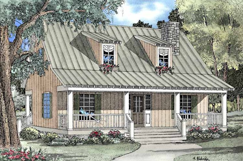 Home Plan - Craftsman Exterior - Front Elevation Plan #17-3150