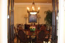 Mediterranean Interior - Dining Room Plan #937-17