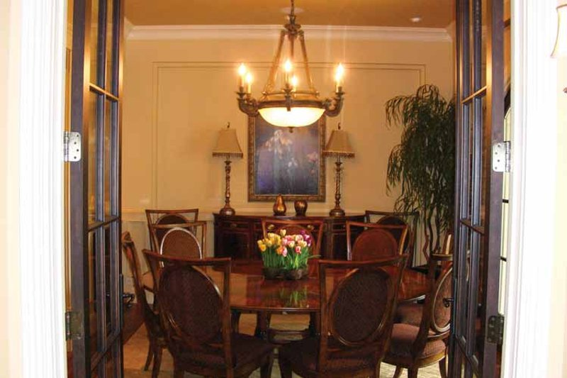 Mediterranean Interior - Dining Room Plan #937-17 - Houseplans.com