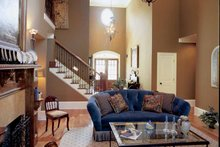 Country Interior - Family Room Plan #927-855