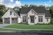 Farmhouse Style House Plan - 3 Beds 2 Baths 2199 Sq/Ft Plan #430-235 Exterior - Front Elevation
