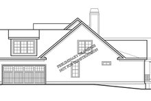 House Plan Design - Traditional Exterior - Other Elevation Plan #927-968
