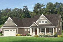 House Design - Craftsman Exterior - Front Elevation Plan #1010-161