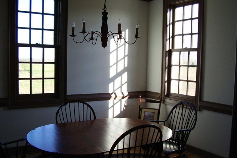 Colonial Interior - Dining Room Plan #137-342 - Houseplans.com
