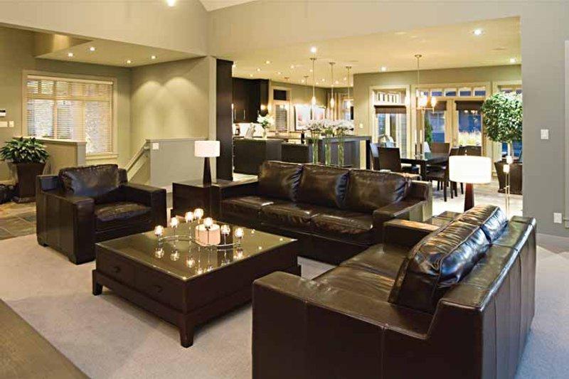 Craftsman Interior - Family Room Plan #929-872 - Houseplans.com