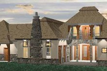 Country Exterior - Rear Elevation Plan #937-6